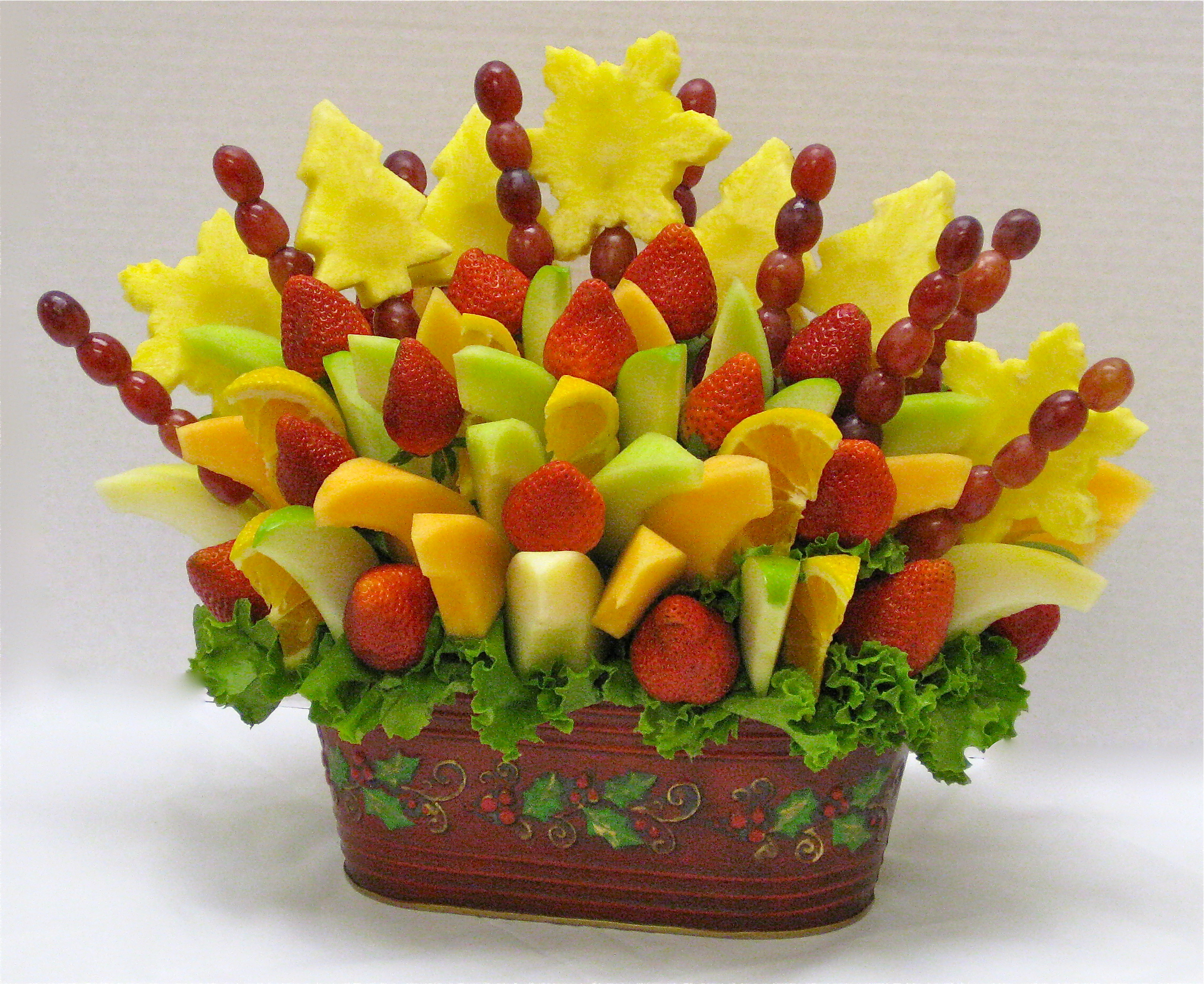 Fruit Arrangement Crazeedaisee